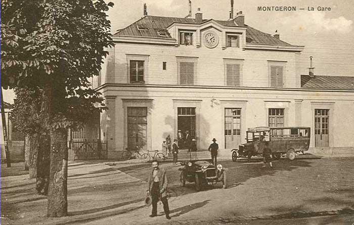 Gare Montgeron 1925