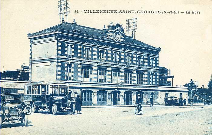 Gare de Villeneuve Saint-Georges