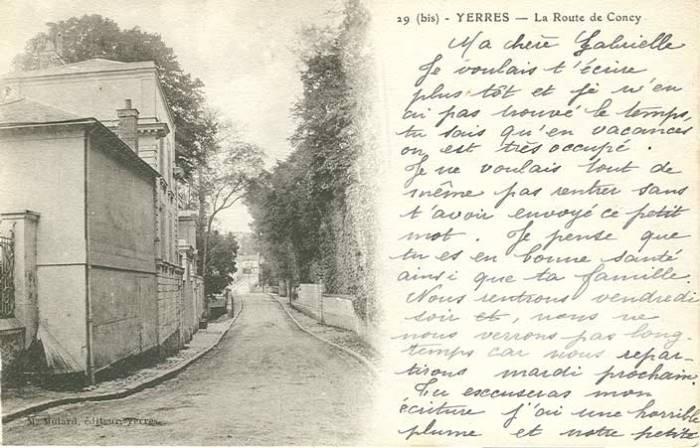Entrée rue de Concy