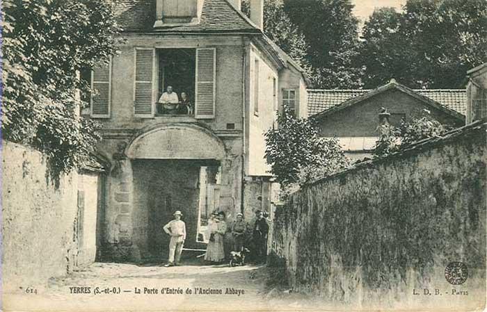 Abbaye Porte Droite