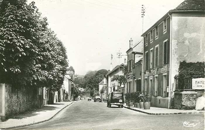 Auberge de l'Abbaye et rue