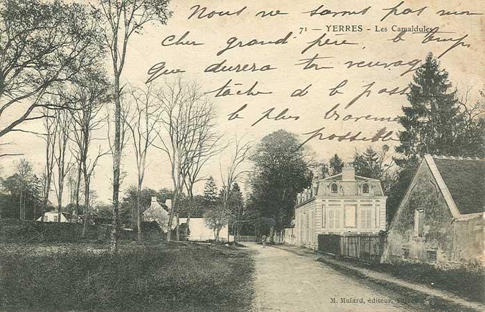 Rue vers Couvent Camaldules