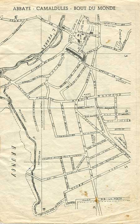 Plan quartier Calmadules
