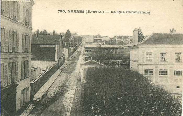 Rue Cambrelang