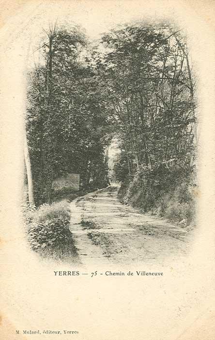 Chemin de Villeneuve