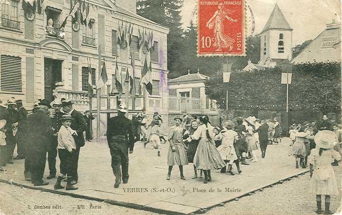 La fête Place de la Mairie