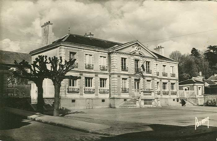 Place Mairie vers 1950