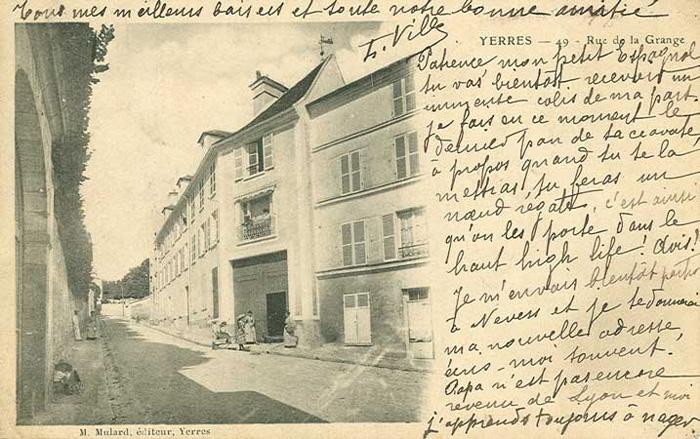 Rue ed la Grange en bas