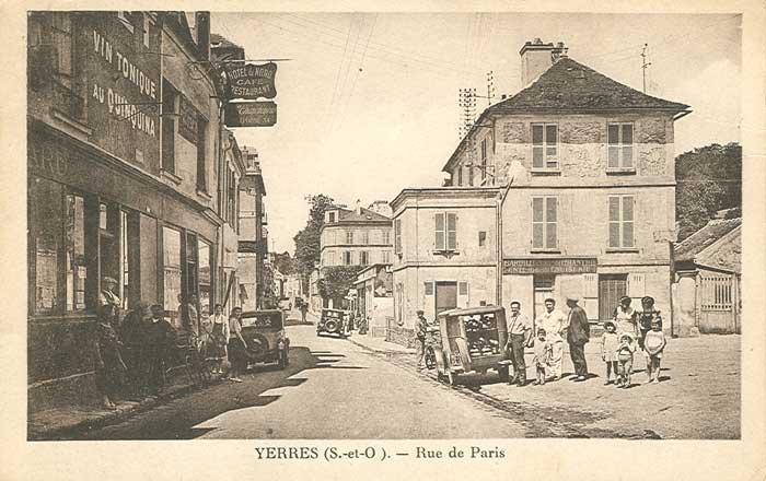Rue de Paris et Place de l'église