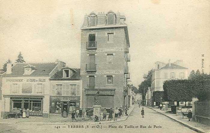 Angle rue de Paris, rue de Concy