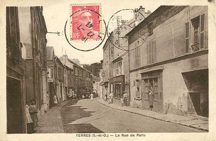 Commerces rue de Paris