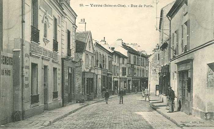 Rue de Paris vers 1920-25