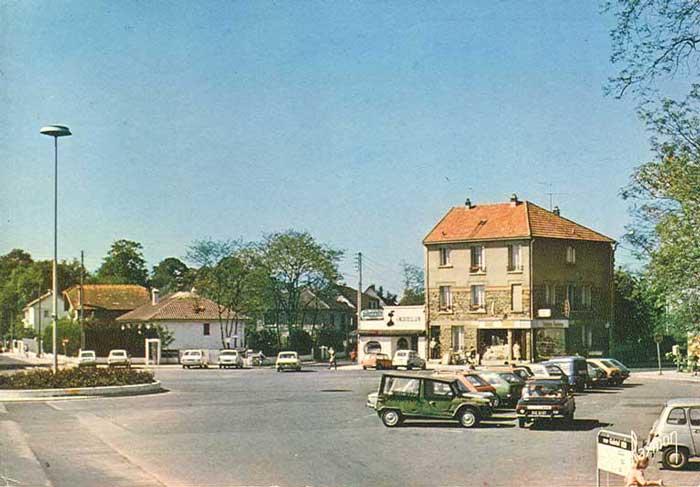 Place Gambetta vers 1970