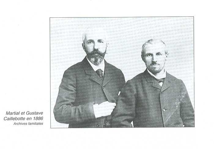 Les frères Caillebotte