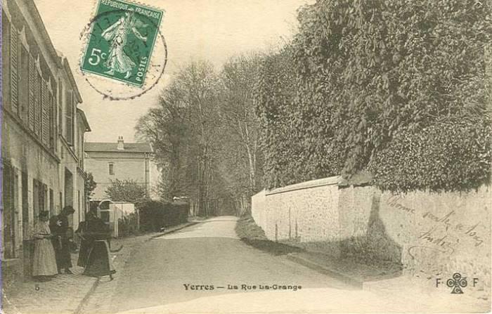 Avenue de la Grange