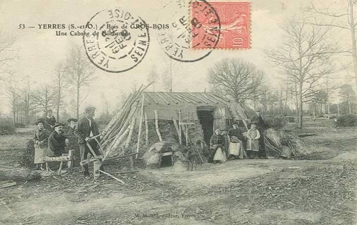 Bucherons à Grosbois