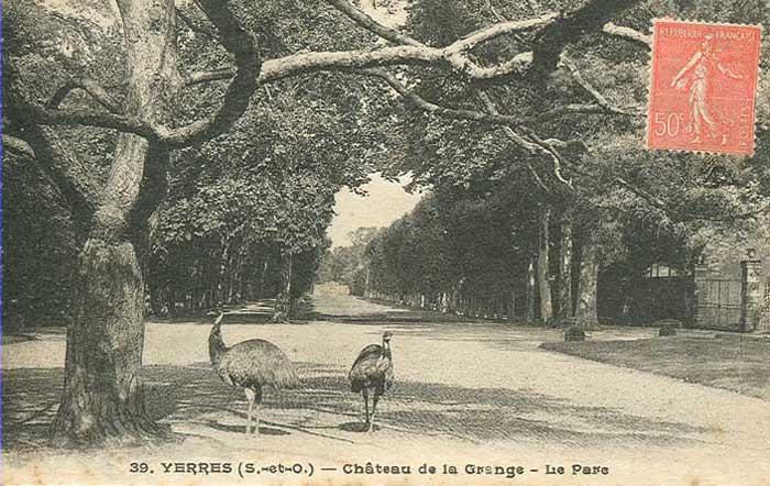 Parc du Château de la Grange