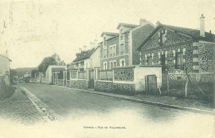Route de Villecresnes