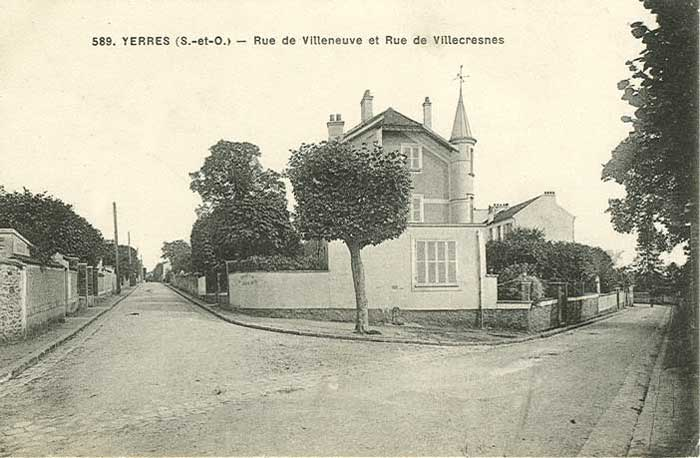 Angle rue Villecresnes/Villeneuve