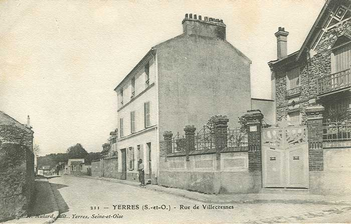 Route de Villecresnes
