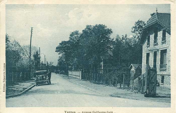Avenue Guillaume Budé