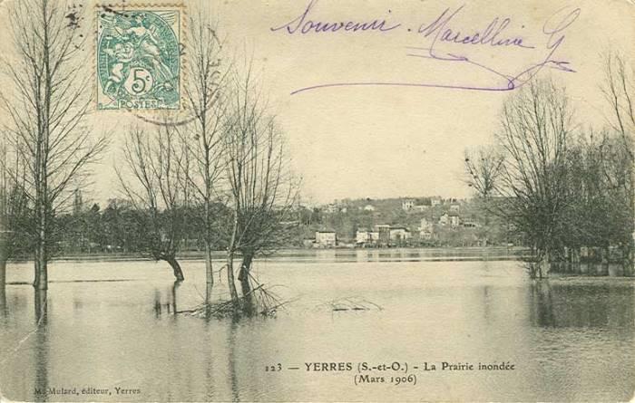 La Prairie inondée