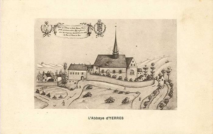 Gravure Abbaye