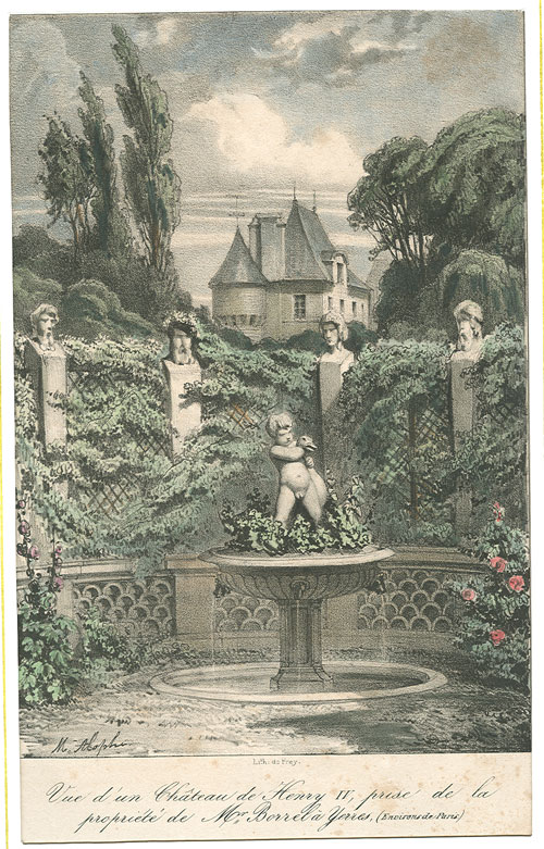 Lithographie 1839