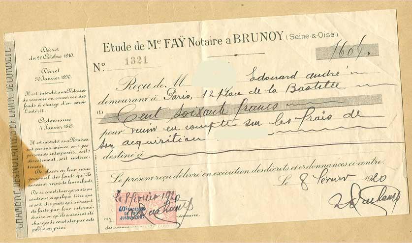 Vente Terrain 1920