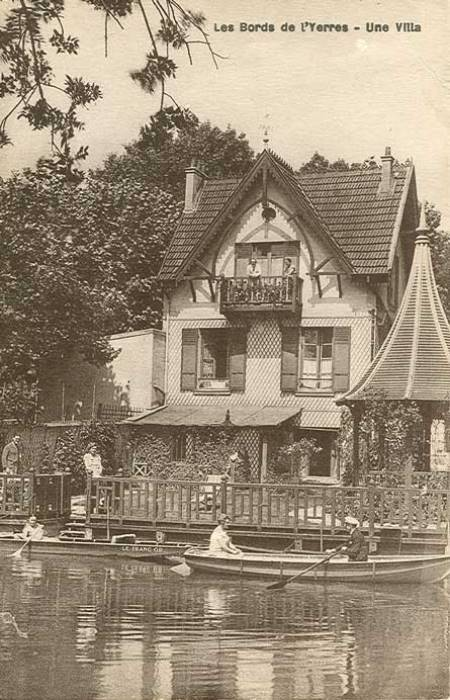 Belle Villa sur les Bords de l'Yerres
